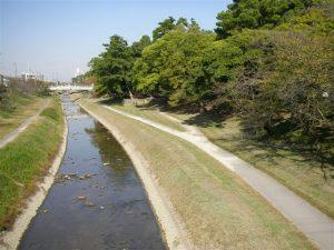 竹千代橋からの景色